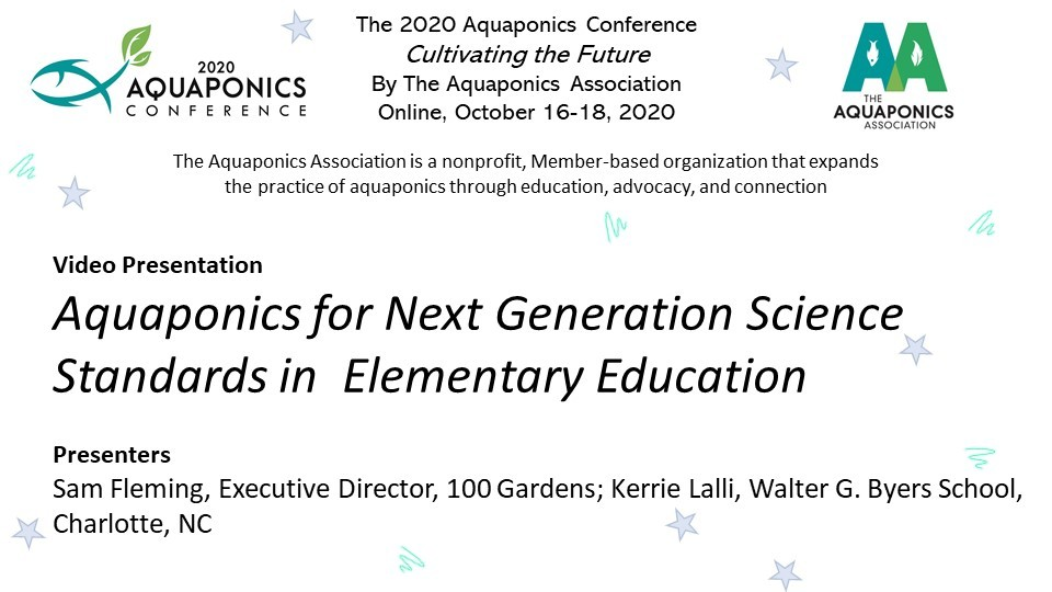 07 Aquaponics for Next Generation Science Standards in Elementary Education - 7